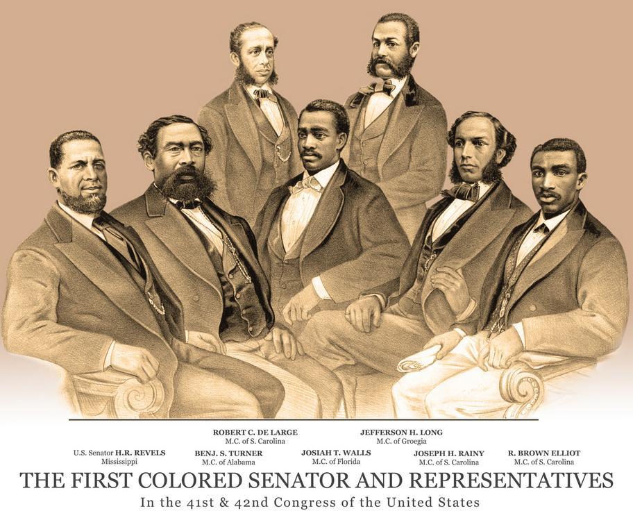 Black Congressmen During the Reconstruction Era