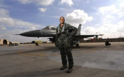 1st African American Female Fighter Pilot USAF