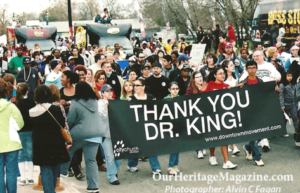 Martin Luther King March in San Antonio