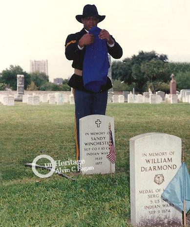 Sergeant William De Armond recieves Medal of Honor