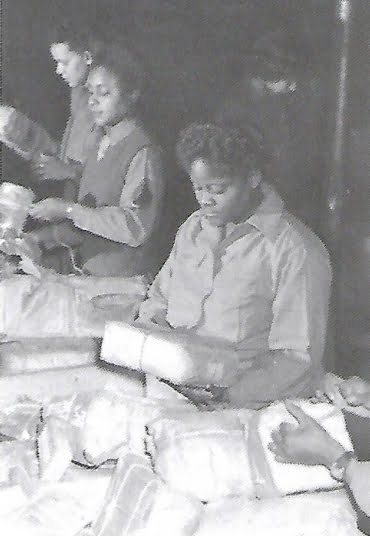 6888th Central Postal Directory Battalion sorting mail